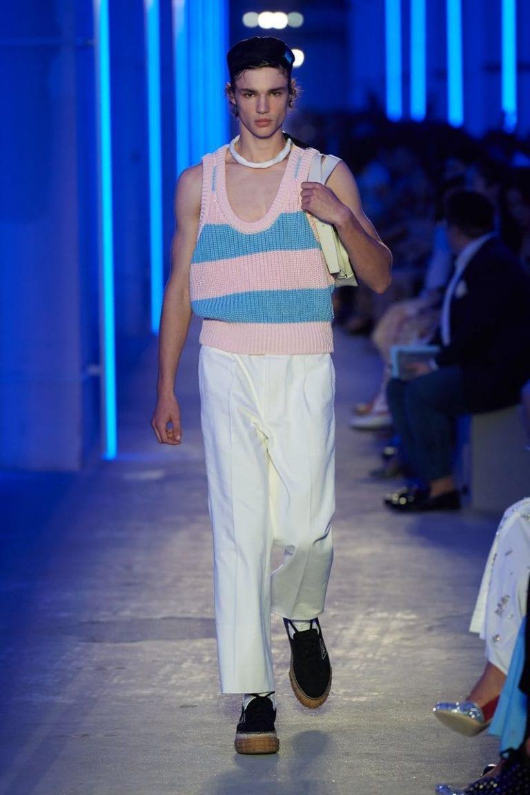 Prada S/S 2020 Menswear show