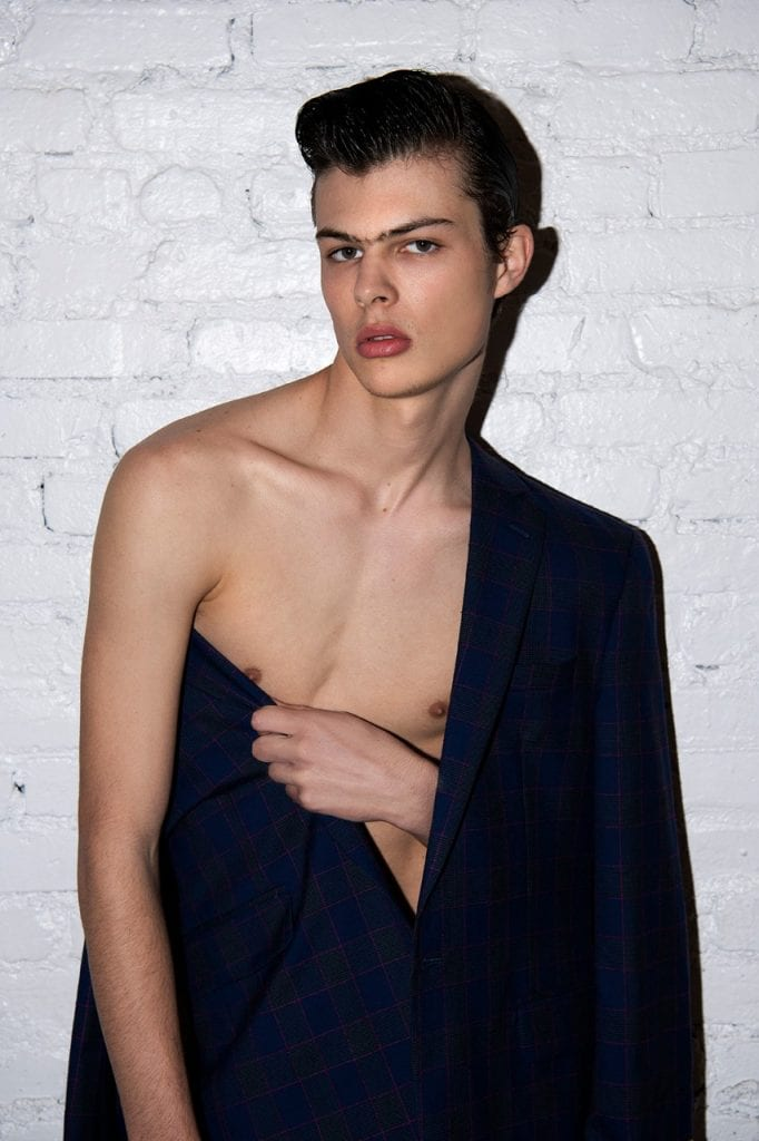Lyons Blum & Ivan Goldfinch by Fabian Morassut  Lyons Blum & Ivan Goldfinch by Fabian Morassut Vanity Teen Menswear & new faces magazine