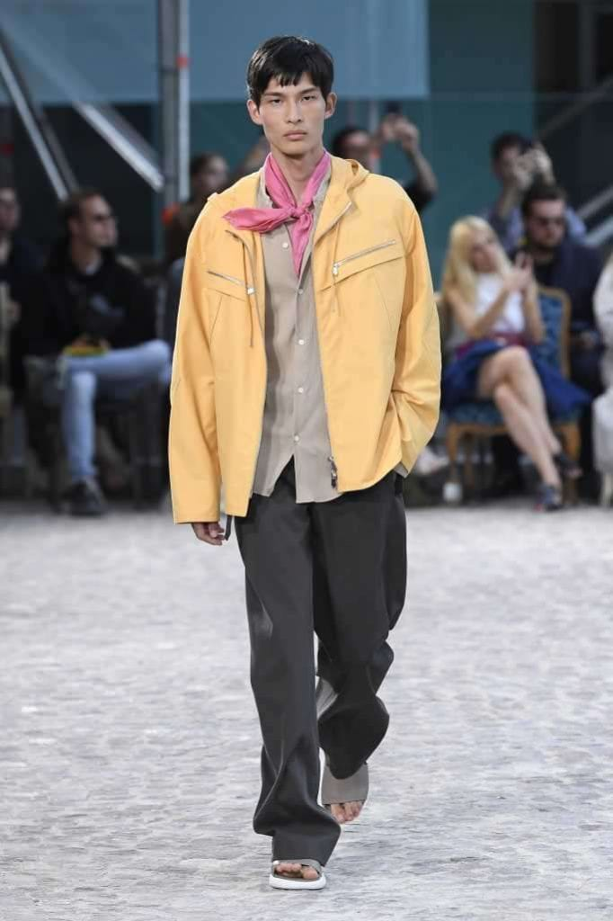 Hermès S/S 2020  Hermès S/S 2020 Vanity Teen Menswear & new faces magazine