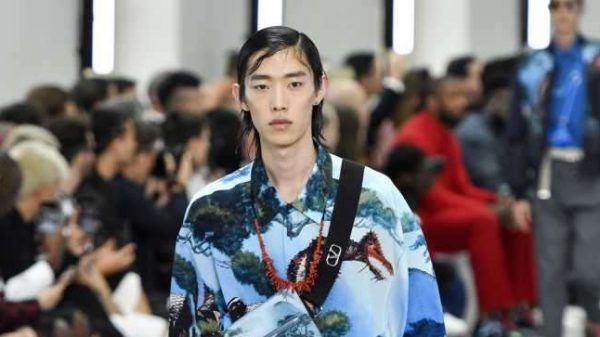 Valentino SS2020  Valentino SS2020 Vanity Teen Menswear & new faces magazine