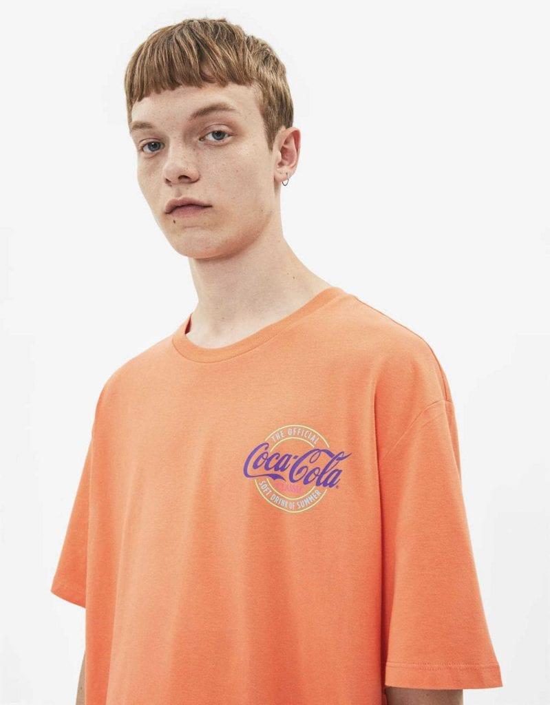 Bershka X Coca-Cola Collection Bershka X Coca-Cola Collection Vanity Teen Menswear & new faces magazine