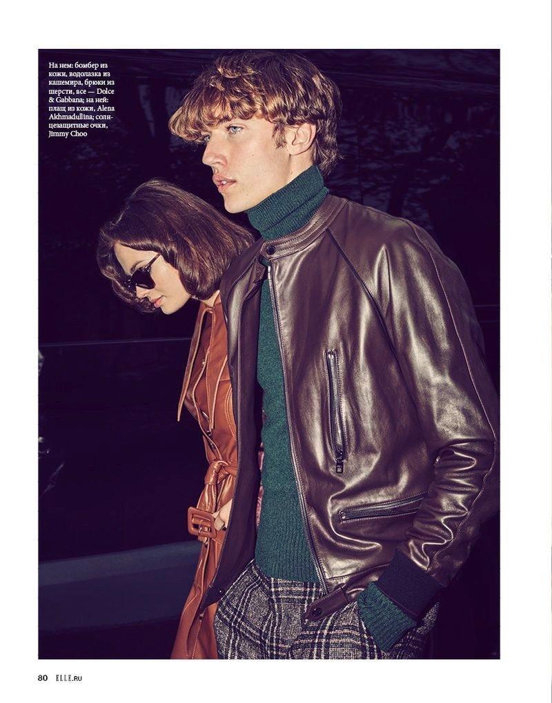 Lucky Blue Smith x ELLE Russia Lucky Blue Smith x ELLE Russia Vanity Teen 虚荣青年 Menswear & new faces magazine