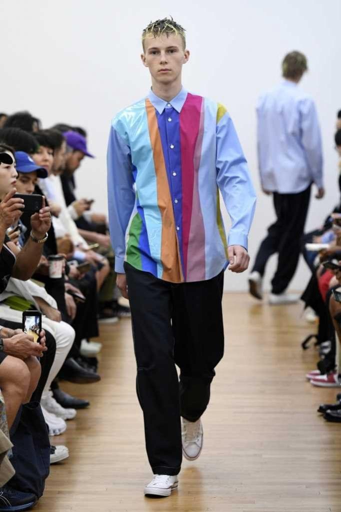 COMME des GARÇONS Homme Shirt SS/2020 COMME des GARÇONS Homme Shirt SS/2020 Vanity Teen 虚荣青年 Menswear & new faces magazine