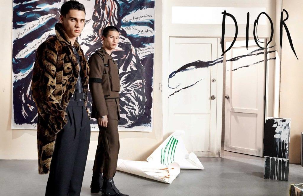 Dior Men F/W19 Dior Men F/W19 Vanity Teen 虚荣青年 Menswear & new faces magazine