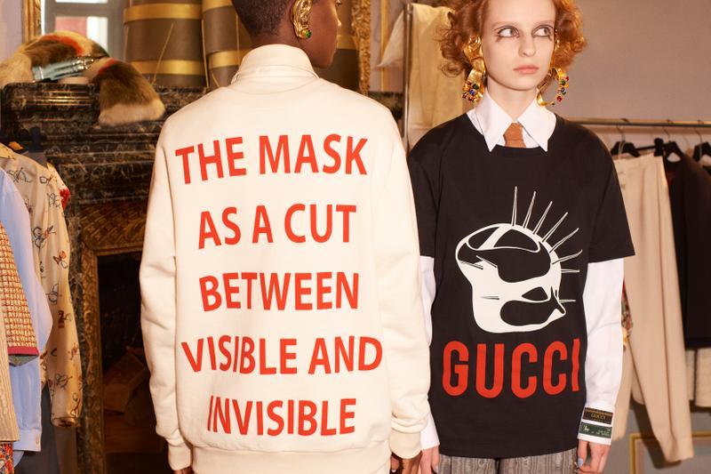 Gucci 'Manifiesto' FW2019 Gucci 'Manifiesto' FW2019 Vanity Teen 虚荣青年 Menswear & new faces magazine