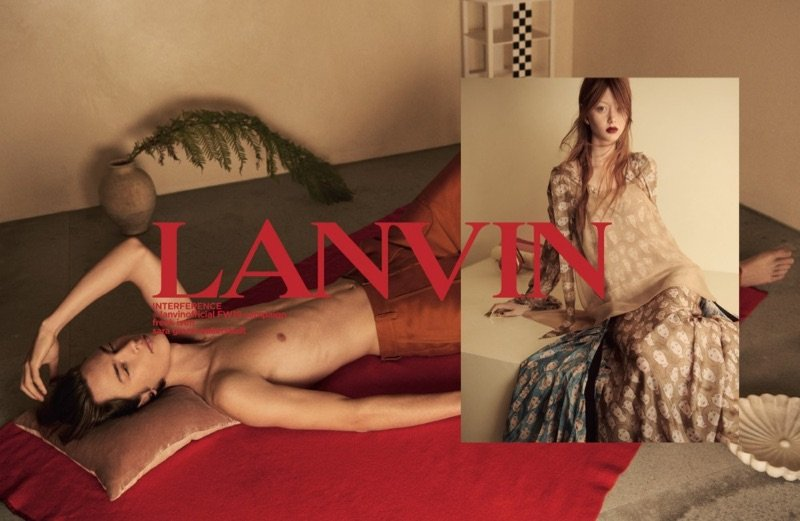 Lanvin F/W 2019  Lanvin F/W 2019 Vanity Teen Menswear & new faces magazine