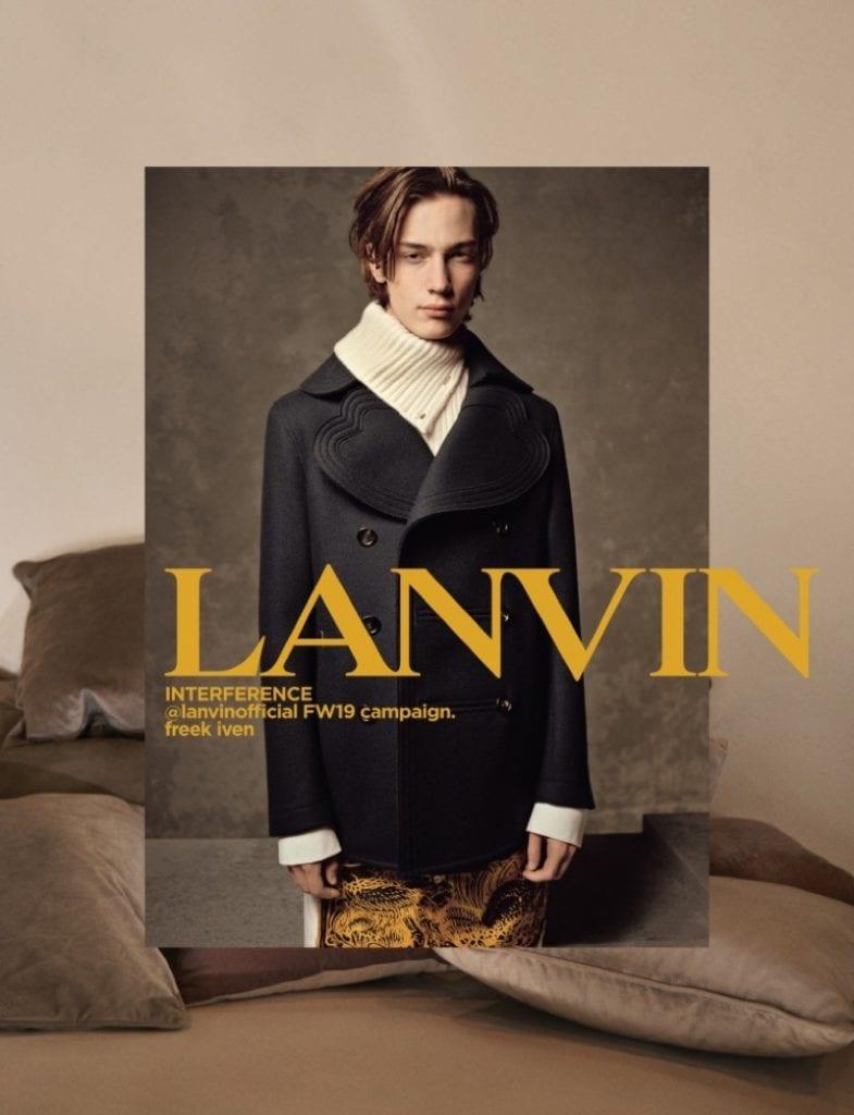 Lanvin F/W 2019 Lanvin F/W 2019 Vanity Teen 虚荣青年 Menswear & new faces magazine