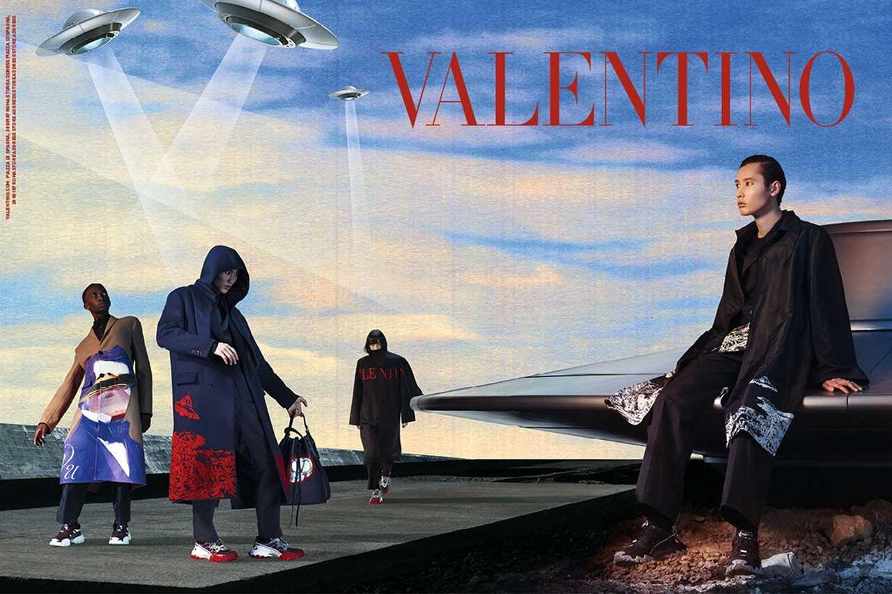 Valentino x Undercover FW/2019 Valentino x Undercover FW/2019 Vanity Teen 虚荣青年 Menswear & new faces magazine