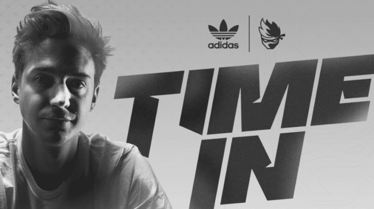 Ninja, the first pro gamer signed by Adidas