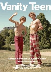 Simon Grondin & Adrien Faro by Mathilde Steullet