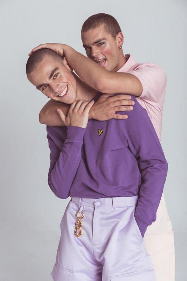 Davo & Miguel Kantero by Juanchy García  Davo & Miguel Kantero by Juanchy García Vanity Teen Menswear & new faces magazine