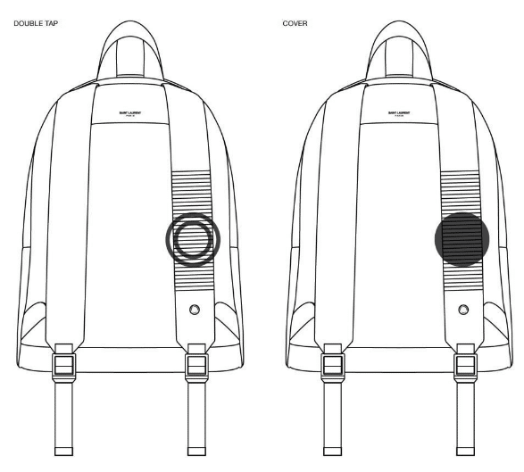 The Cit-e backpack YSL and Jacquard by Google The Cit-e backpack YSL and Jacquard by Google Vanity Teen 虚荣青年 Menswear & new faces magazine