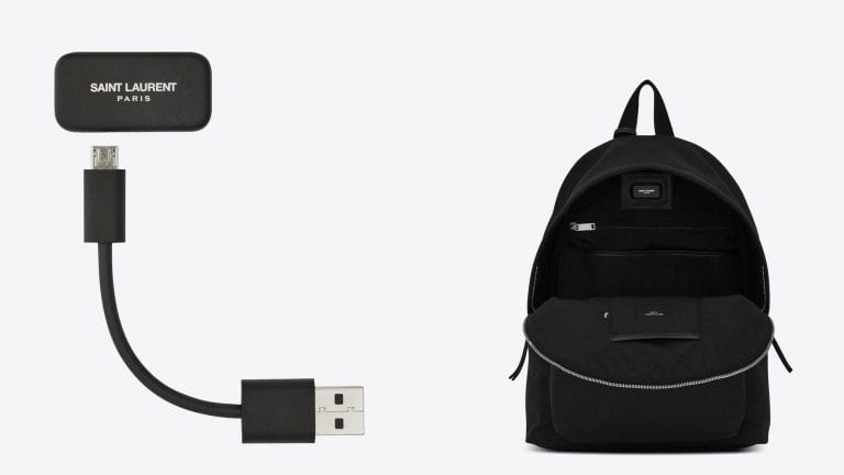 The Cit-e backpack YSL and Jacquard by Google