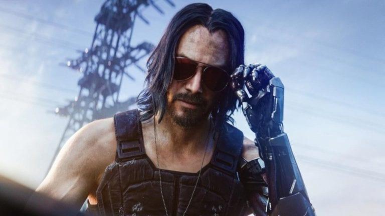 Keanu Reeves + Cyberpunk 2077