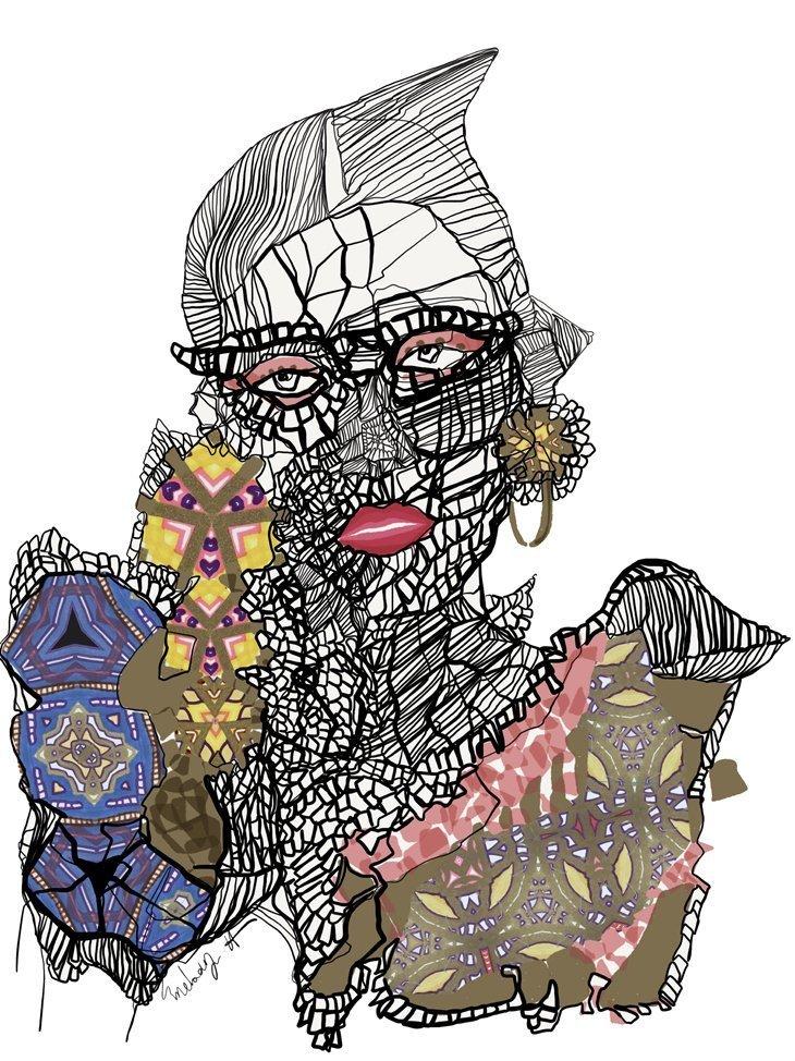 Melody Hesaraky: Fashion Illustrations Melody Hesaraky: Fashion Illustrations Vanity Teen 虚荣青年 Menswear & new faces magazine