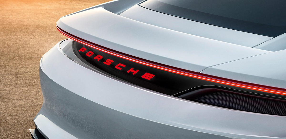 Porsche unveiled the concept of an electric car Porsche unveiled the concept of an electric car Vanity Teen Menswear & new faces magazine