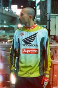 Supreme x Fox Racing x Honda FW19