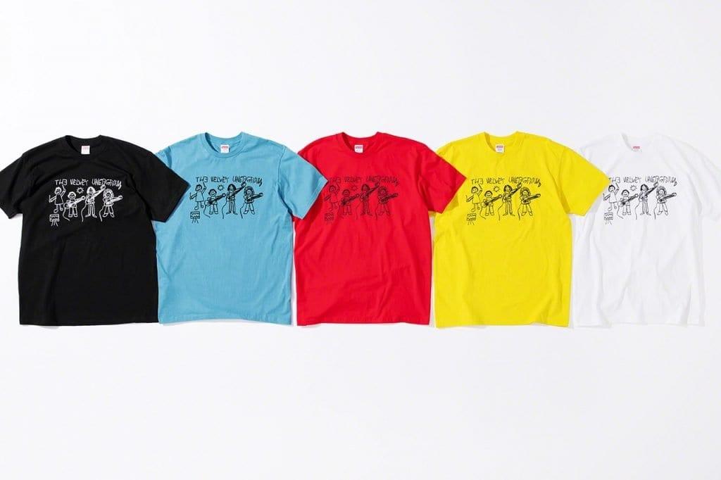 Supreme x The Velvet Underground Supreme x The Velvet Underground Vanity Teen 虚荣青年 Menswear & new faces magazine
