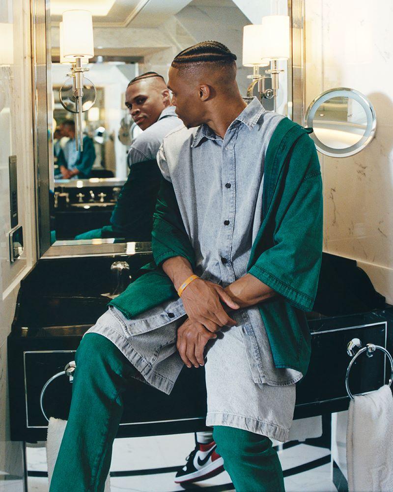 Acne Studios x Russell Westbrook Acne Studios x Russell Westbrook Vanity Teen Menswear & new faces magazine