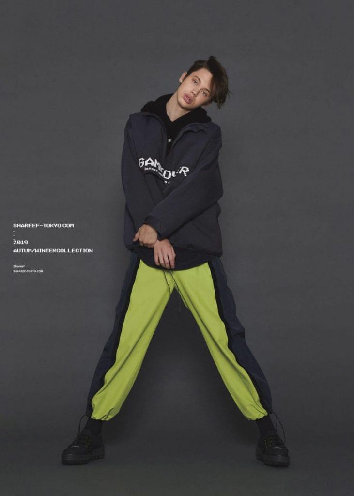Shareef FW19  Shareef FW19 Vanity Teen Menswear & new faces magazine
