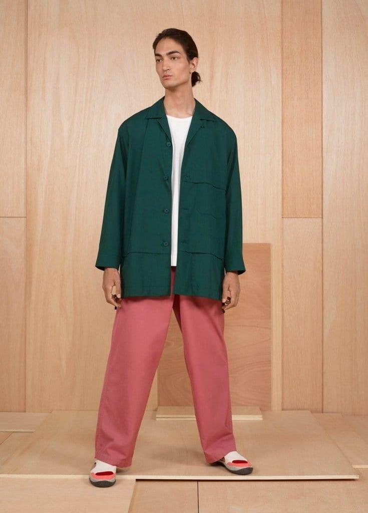 Issey Miyake SS2020 Issey Miyake SS2020 Vanity Teen Menswear & new faces magazine