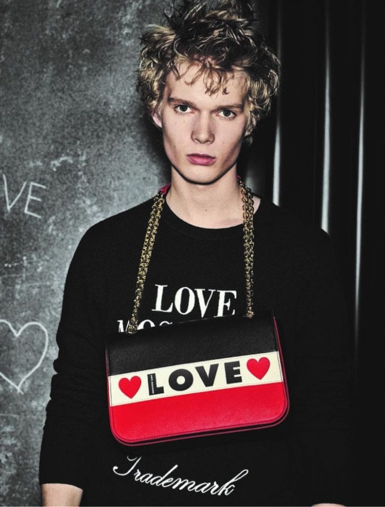 Love Moschino FW19 Love Moschino FW19 Vanity Teen Menswear & new faces magazine