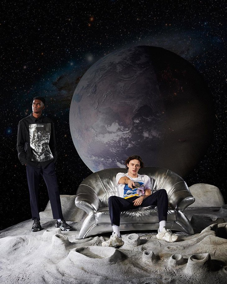 Valentino 'Spaceland' Campaign