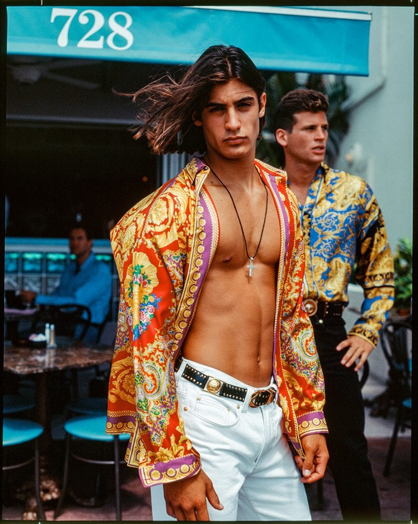 """South Beach Stories"" by Versace ""South Beach Stories"" by Versace Vanity Teen Menswear & new faces magazine"