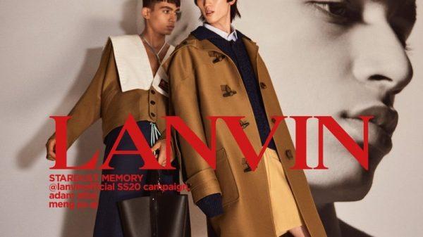 Lanvin SS20  Lanvin SS20 Vanity Teen Menswear & new faces magazine