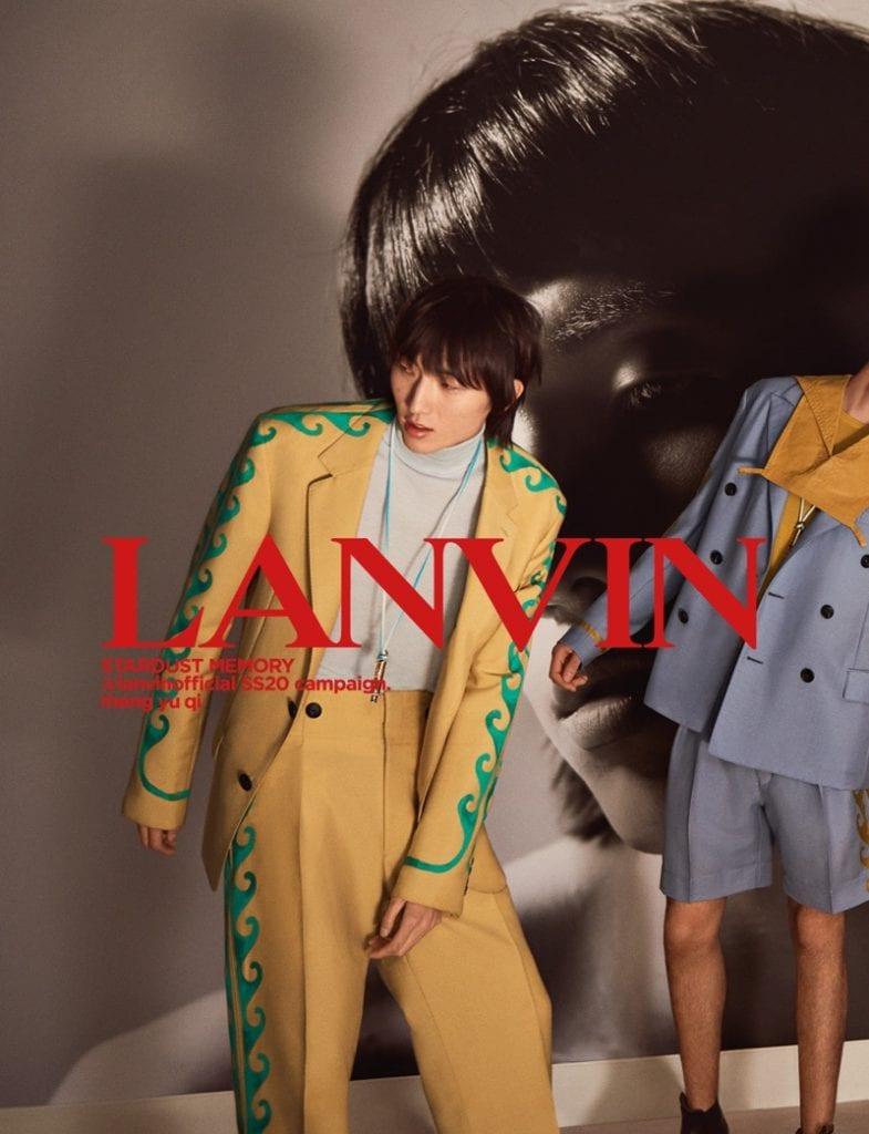 Lanvin SS20 Lanvin SS20 Vanity Teen 虚荣青年 Menswear & new faces magazine