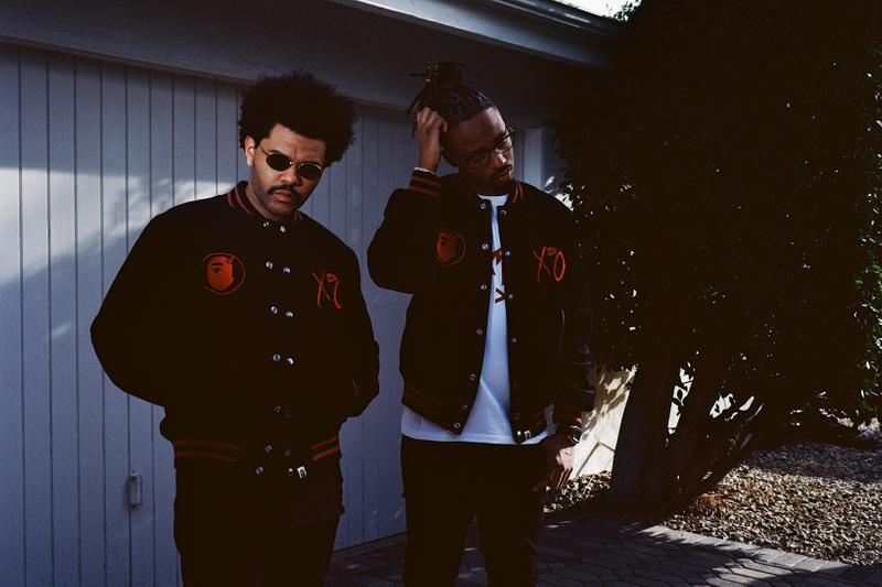 A BATHING APE X The Weeknd A BATHING APE X The Weeknd Vanity Teen 虚荣青年 Menswear & new faces magazine