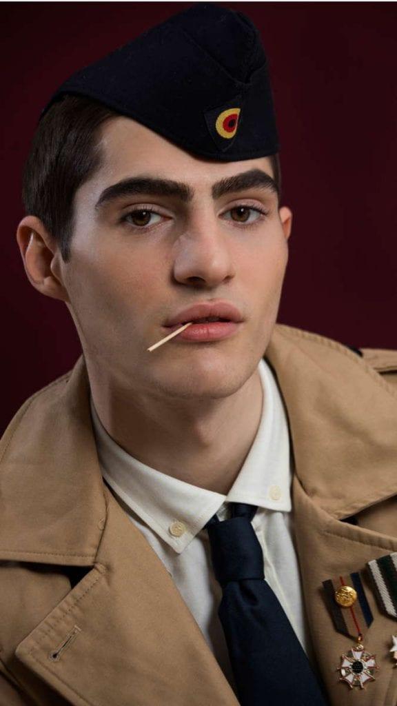 Alejandro Alonso by David García Alejandro Alonso by David García Vanity Teen 虚荣青年 Menswear & new faces magazine