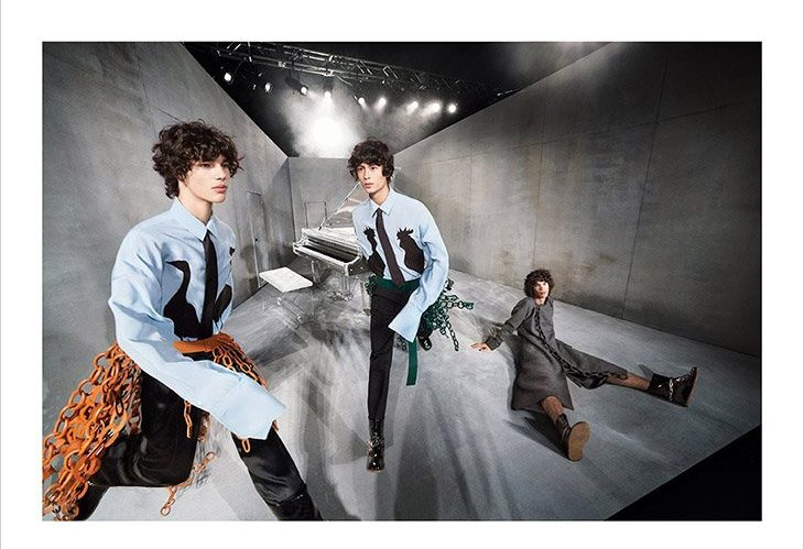 LOEWE FW20 LOEWE FW20 Vanity Teen 虚荣青年 Menswear & new faces magazine