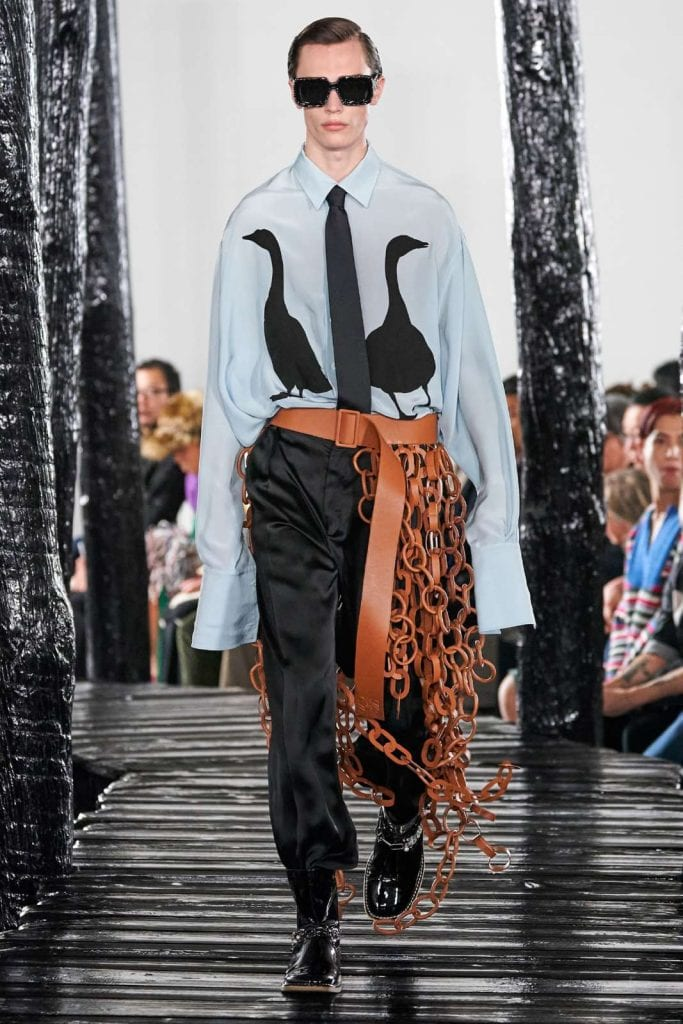 LOEWE FW20  LOEWE FW20 Vanity Teen Menswear & new faces magazine