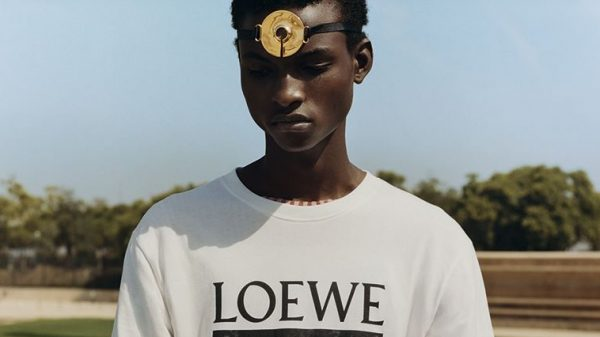 Loewe and Tyler Mitchell Collection  Loewe and Tyler Mitchell Collection Vanity Teen Menswear & new faces magazine