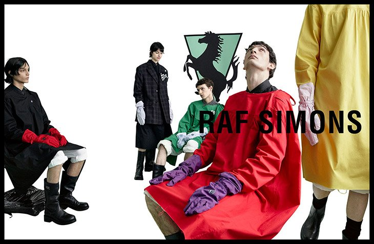 Raf Simons SS20  Raf Simons SS20 Vanity Teen Menswear & new faces magazine