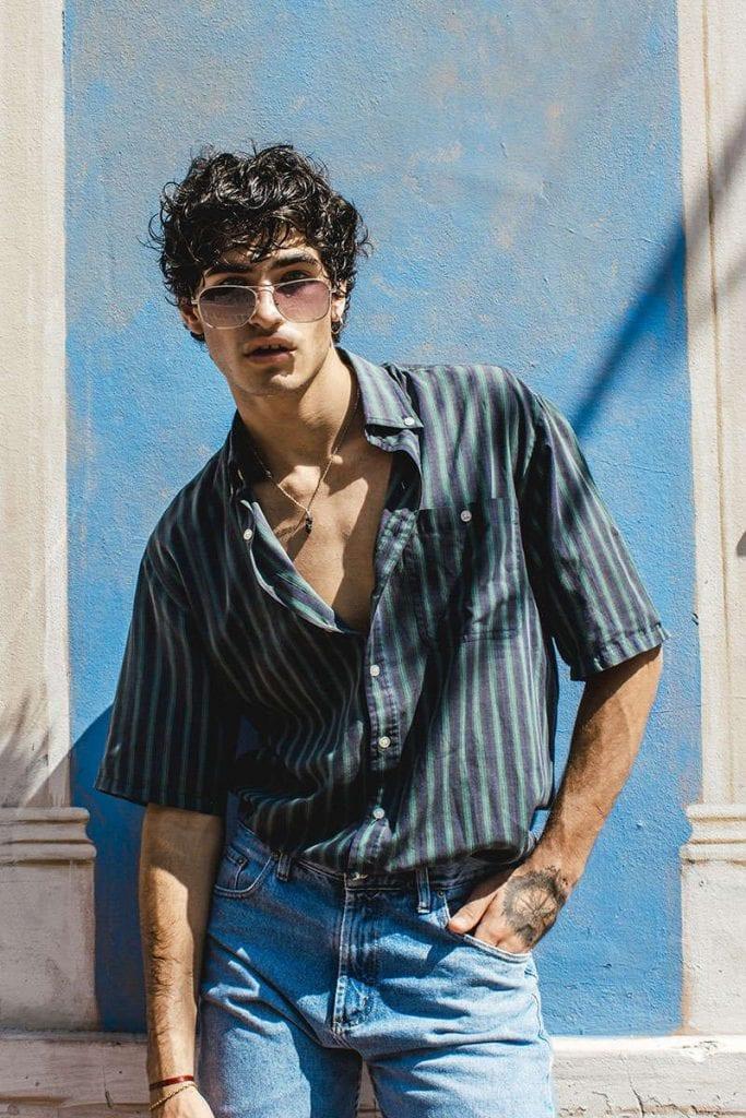 Franco Mazzei by Sebatian Gauto Franco Mazzei by Sebatian Gauto Vanity Teen 虚荣青年 Lifestyle & new faces magazine