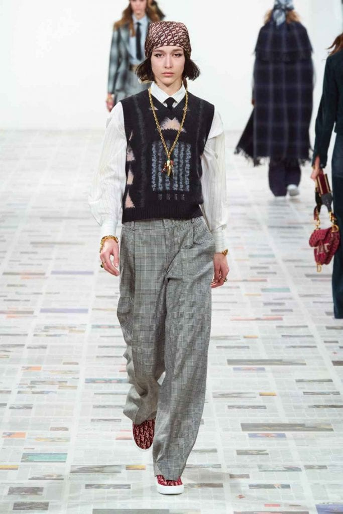 Dior FW20 Dior FW20 Vanity Teen Menswear & new faces magazine