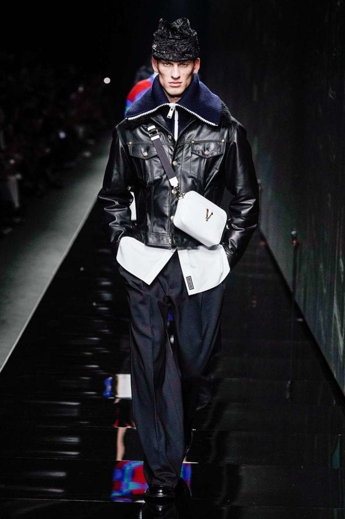 Versace FW20 Versace FW20 Vanity Teen Menswear & new faces magazine