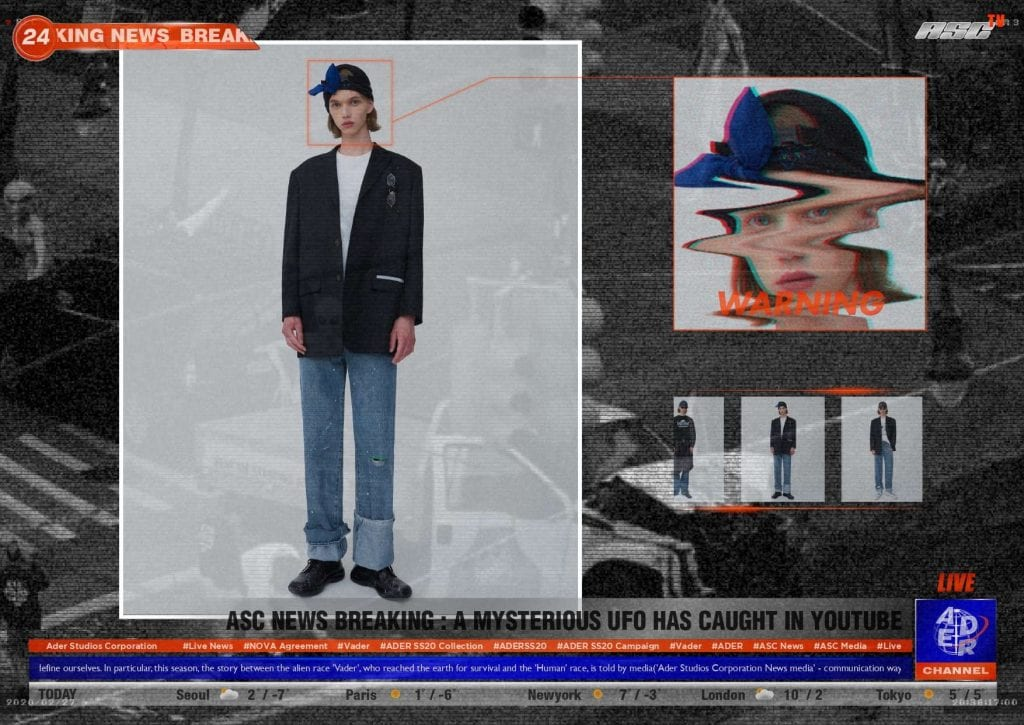SS20 Ader Error SS20 Ader Error Vanity Teen 虚荣青年 Menswear & new faces magazine