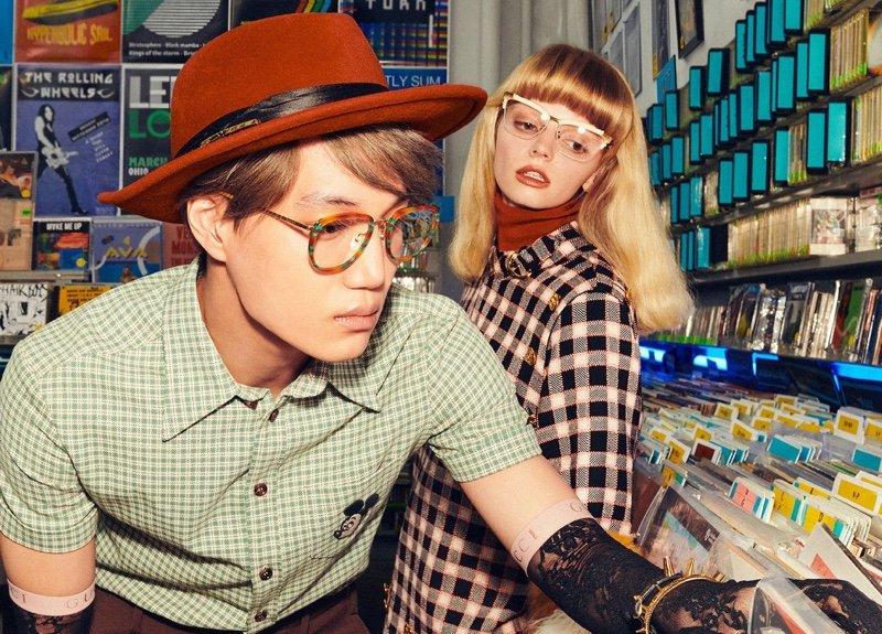 SS20 Gucci Eyewear SS20 Gucci Eyewear Vanity Teen Menswear & new faces magazine