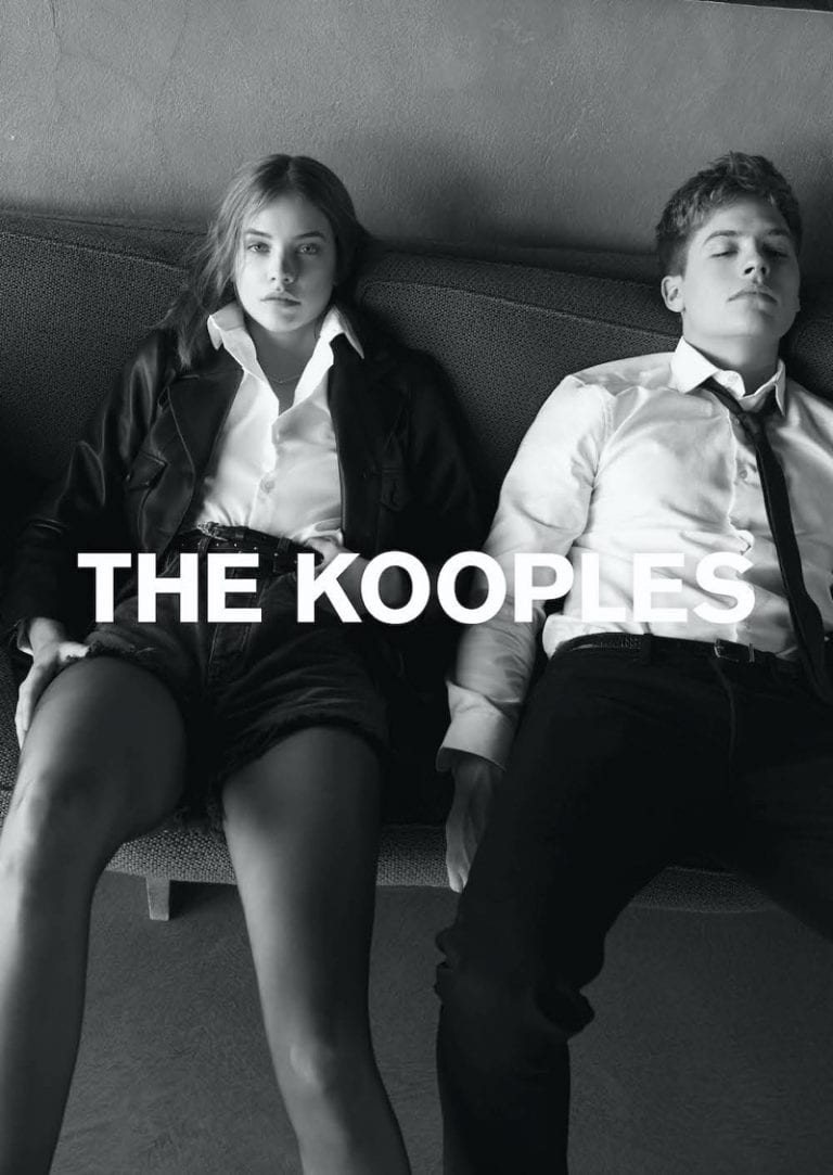 SS20 Barbara Palvin & Dylan Sprouse  x The Kooples