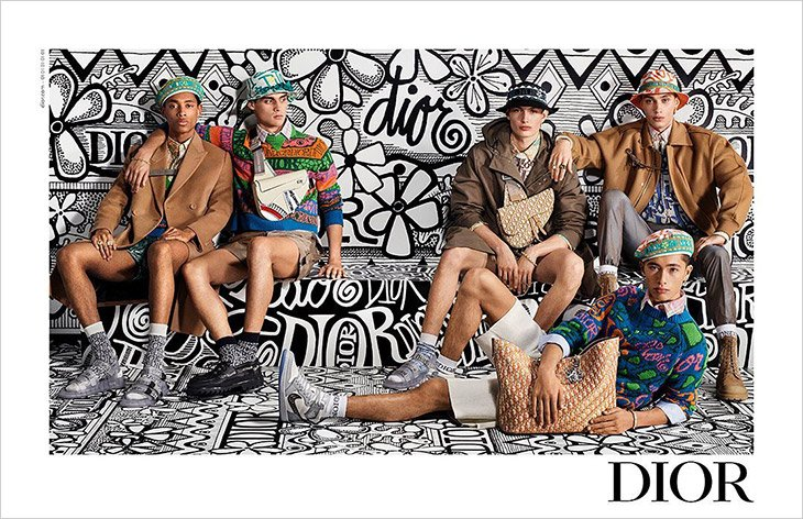 Pre-Fall 20 Dior Men Campaign Pre-Fall 20 Dior Men Campaign Vanity Teen Menswear & new faces magazine