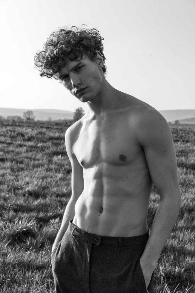 Vanity Teen EXCLUSIVE Timo Buamann by Parinya Wongwannawat, The stroke of luck that made Timo Baumann the model he is today