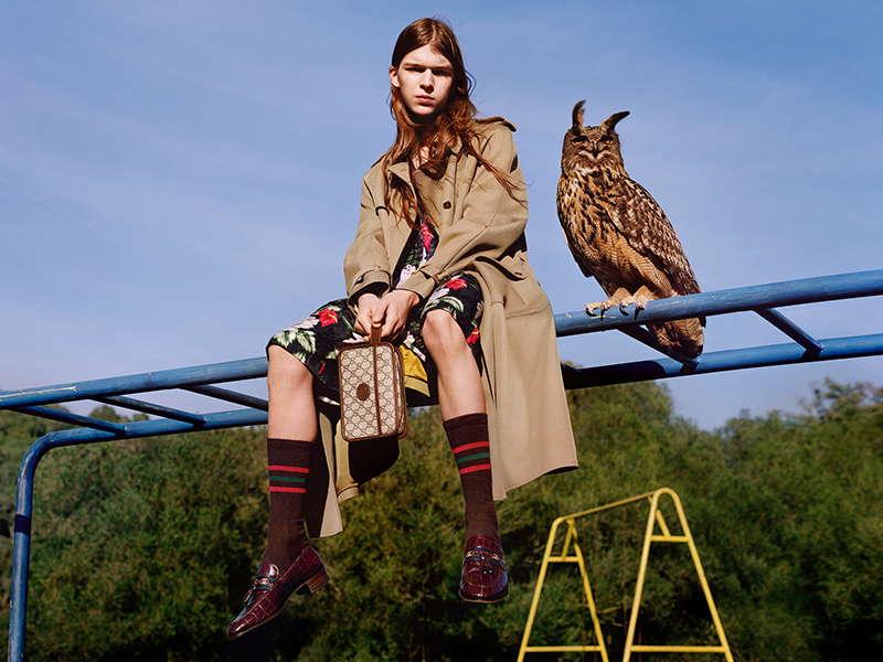 Pre-Fall 20 Gucci Campaign Pre-Fall 20 Gucci Campaign Vanity Teen 虚荣青年 Menswear & new faces magazine