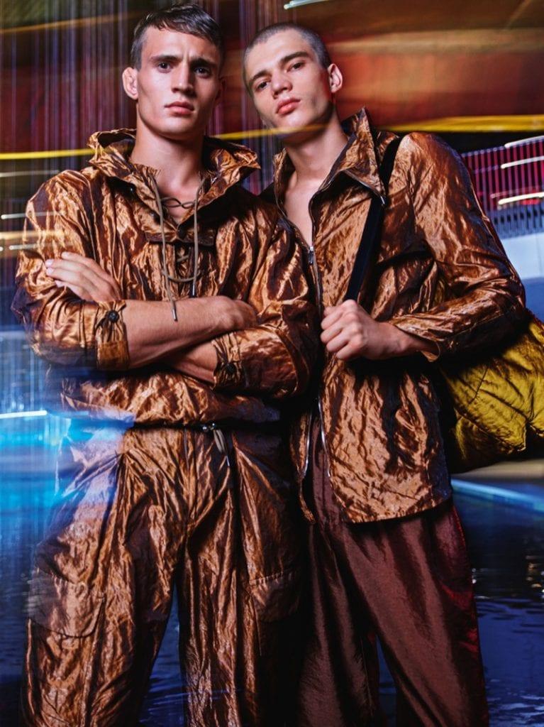 SS20 Emporio Armani Campaign SS20 Emporio Armani Campaign Vanity Teen 虚荣青年 Menswear & new faces magazine