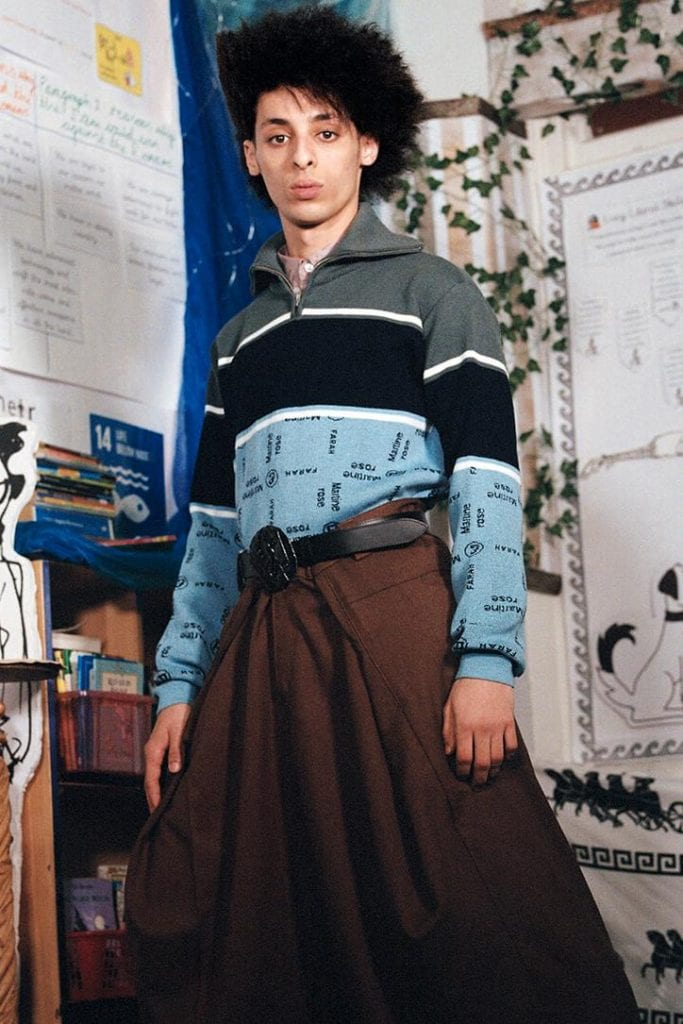 SS20 Martine Rose and Farah Craft Collection SS20 Martine Rose and Farah Craft Collection Vanity Teen Menswear & new faces magazine