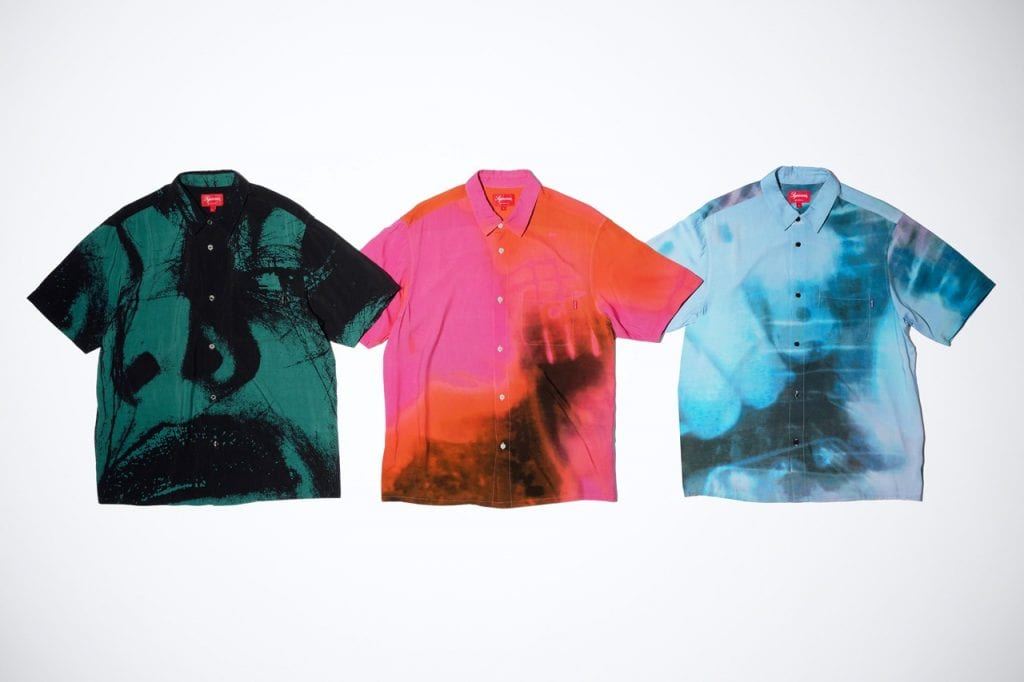 Supreme x My Bloody Valentine Collection  Supreme x My Bloody Valentine Collection Vanity Teen Menswear & new faces magazine