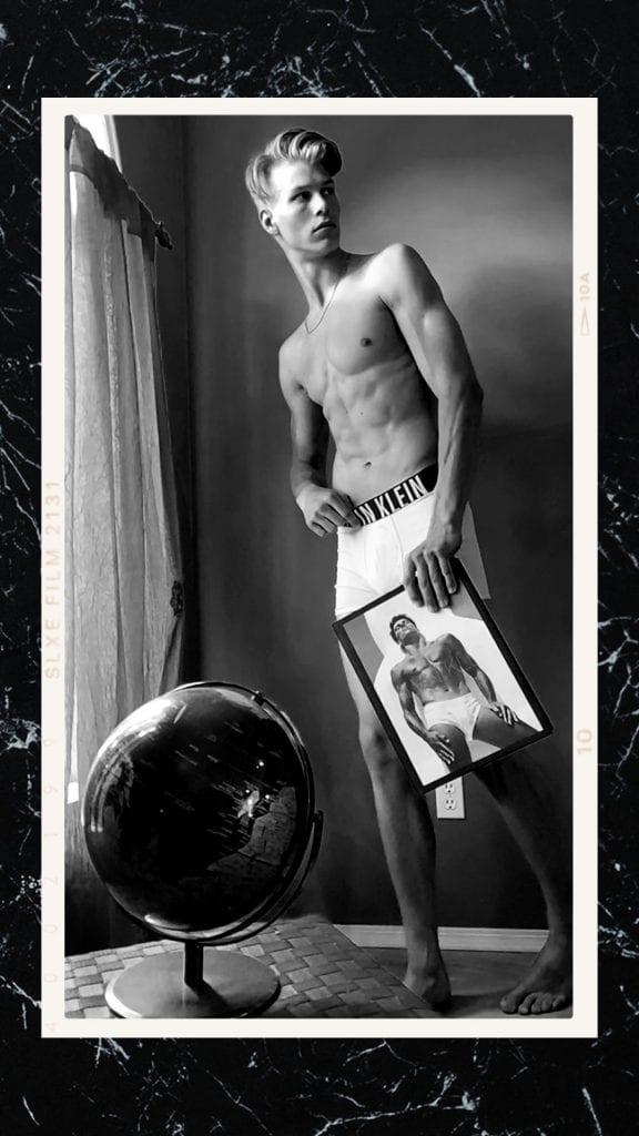 Devin Moorman by Adam Washington Devin Moorman by Adam Washington Vanity Teen Menswear & new faces magazine
