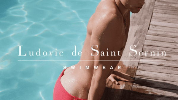Ludovic de Saint Sernin launches his first swimwear collection Ludovic de Saint Sernin launches his first swimwear collection Vanity Teen Menswear & new faces magazine